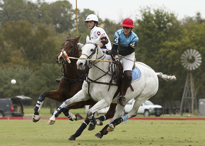 polo championship in action